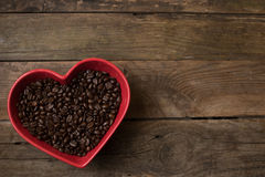 Love for coffee, Royalty Free Stock Images