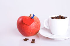 Love and coffee Stock Photos