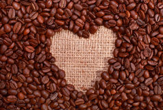 Love coffee Royalty Free Stock Image