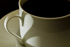 Love coffee Stock Photos