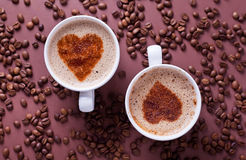 Love Coffees Stock Photos