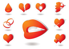 Love collection Stock Image