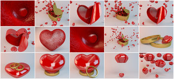 Love collection scenes part two Stock Image