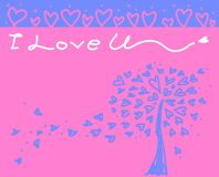 Love Collection on white background, vector illustration Royalty Free Stock Image