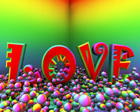 Love color blast Stock Photos