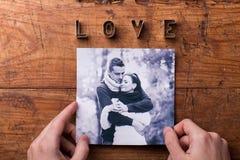 Love composition. Studio shot. Stock Image