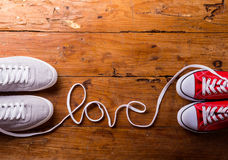 Love composition. Studio shot. Royalty Free Stock Photography