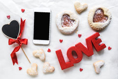 Love concept background Stock Photo