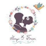Love concept card Royalty Free Stock Photos