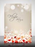 Love Concept Flyer Design Stock Photos