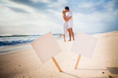 Love concept frame Royalty Free Stock Photo