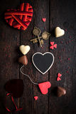 Love concept with heart Stock Photo
