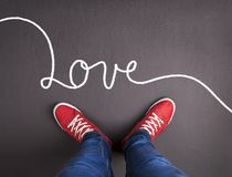 Love concept Royalty Free Stock Photography
