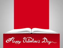 Love concept. St. Valentine's day illustration Stock Photos