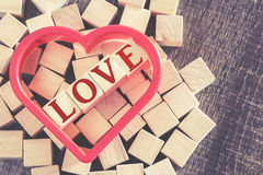 Love concept. Valentines day background Stock Images