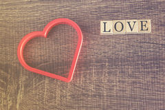 Love concept. Valentines day background Royalty Free Stock Photography