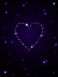 Love constellation Stock Images