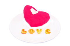 Love cookie Royalty Free Stock Photo