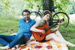 Love couple outdoor Stock Photos