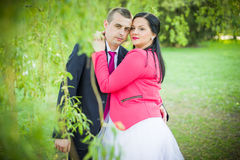 Love couple in the park Stock Photography