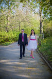 Love couple in the park Royalty Free Stock Photo