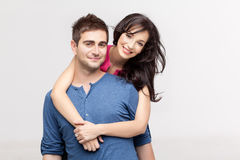 In love couple posing Royalty Free Stock Photos