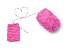 Love crochet Stock Photography