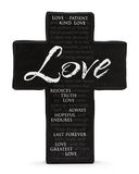 Love Cross Stock Image