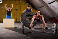 We love cross-training Stock Photo