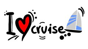 Love cruise Royalty Free Stock Photo