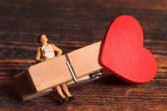 Love crunch stock photo