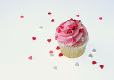 Love Cup Cake Stock Photography
