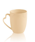 Love cup for coffee and tea Stock Photo