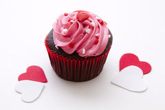 Love cupcake Royalty Free Stock Photo