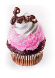 Love cupcake Royalty Free Stock Photography