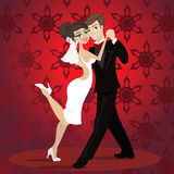 Love dance Royalty Free Stock Images