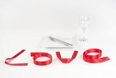Love date Royalty Free Stock Image