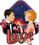 Love dating Stock Photos