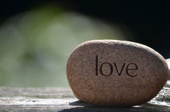 LOVE is deep Royalty Free Stock Images