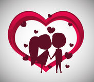Love design Stock Image