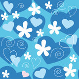 Love design pattern Stock Image