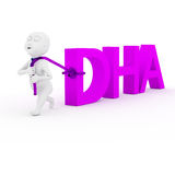 Love DHA. Stock Photography