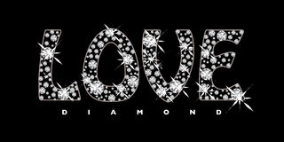 Love diamond icon Stock Image