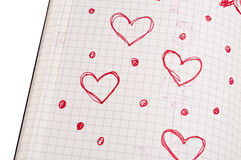 Love Diary Royalty Free Stock Photos