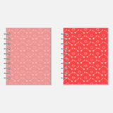 Love diary design Stock Image