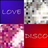 Love disco Royalty Free Stock Images