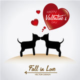Love dogs Royalty Free Stock Images