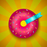 Love donut Royalty Free Stock Photo