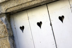 Love door Stock Photo