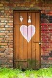 Love door Stock Images